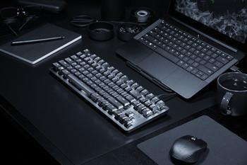 Razer BlackWidow Lite - Silent Mechanical Gaming Keyboard - US Layout FRML (Orange Switch)
