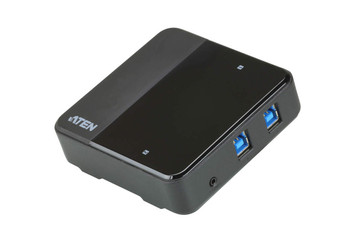 Aten USB-C enabled USB 3.1 Gen 1 Peripheral Sharing Switch. Allow to switch four USB devices between 2 different computers
