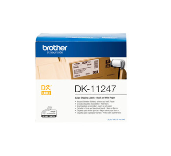 Brother DK11247 White Label