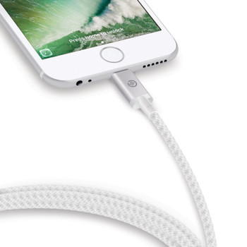 ALOGIC 3m Lightning to USB Cable Mfi Certified - 3m Silver