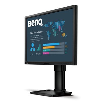 """BenQ BL2411PT 24"""" (16:10) IPS LED 1920x1200 Business Monitor with Eye-Care Technology"""