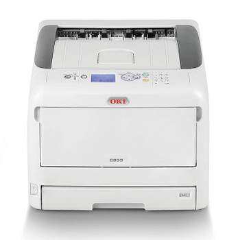 OKI C833N COLOUR A3 35PPM (A4 SPD) NETWORK PCL 400 SHEET PRINTER