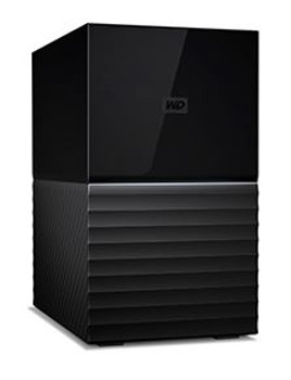 My Book Duo 20TB Desktop RAID External Hard Drive USB 3.1 Gen2 - Black