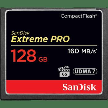 SanDisk Extreme Pro CF,VPG65, UDMA 7, 160MB/s R, 150MB/s W, 4x6, Lifetime Limited