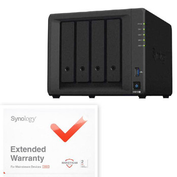 Bundle  - Synology DS918+ with the Warranty extension upgrade, EW201, extending warranty to 5years