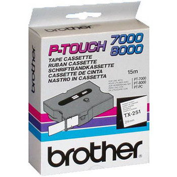 Brother TX252 Labelling Tape