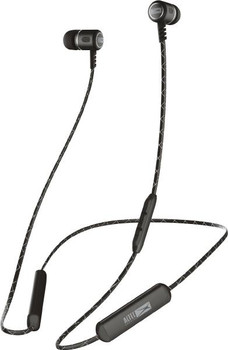 Altec Lansing In-Ear Metal Bluetooth Earphones Black - (Wireless Bluetooth, 5 hrs Battery)