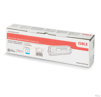 OKI C834 Cyan Toner Cartridge