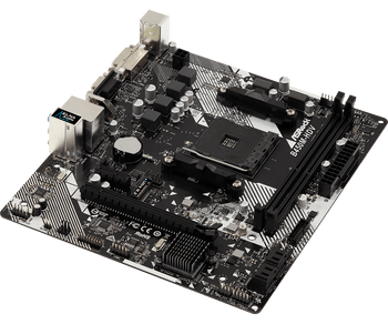 Supper Alloy mother board;CPU:AMD AM4 Socket;Chipset:AMD Promontory B450;Graphics:ntegrated AMD Radeon Vega Series Graphics in Ryzen Series APU