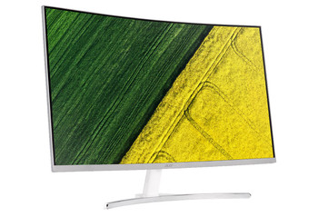 "GAMING FREE SYNC,31.5"" Curve 16:9 VA,FHD 1920x1080@75Hz,4ms (G to G),250 nits,100 million:1,VGA+DVI,HDMI(1.4),SPK(3Wx2),SILVER,3 YR MAIL IN"
