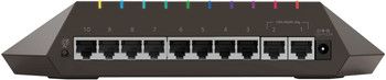 "NETGEAR ""Nighthawk SX10"" GS810EMX 8-port Switch with 2x 10G/Multi-Gig Uplinks"