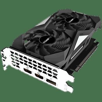GIGA GTX 1650OC, 4GB GDDR6, 1 x HDMI, 2 x DP, 1 x USB, ATX, 3x Fans, PSU 500w, 3yr Wty