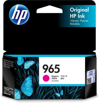HP 965 Magenta Ink Cartridge for OfficeJet Pro 9010, 9012, 9016, 9018, 9019, 9020, 9026, 9028