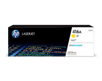 HP 416A LaserJet M454/M479 Standard Yield Yellow Toner Cartridge (W2042A)