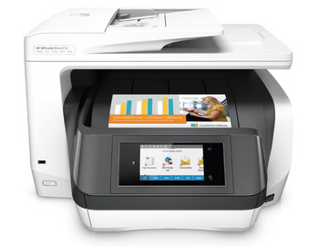 HP OfficeJet Pro 8730 All-in-One Printer,Wireless, Print, Fax, Scan and Copy,Up to 36 ppm,Duplex,512 MB,15.2 kg