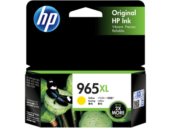 HP 965XL Yellow Ink Cartridge for OfficeJet Pro 9010, 9012, 9016, 9018, 9019, 9020, 9026, 9028