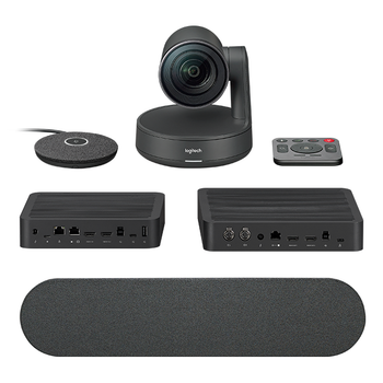 Logitech Smart Dock with Rally Plus Kit - Camera, Mic, Speaker, Hub, SP6 with Flex