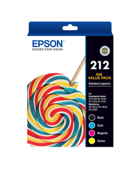 Epson 212 4 Ink Value Pack