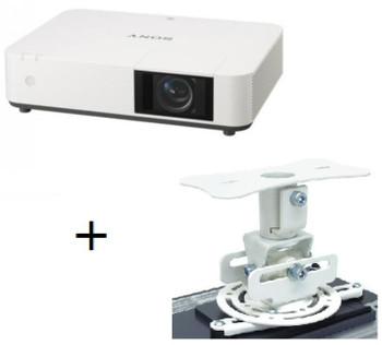 Sony PHZ11 Venue Projector w/ Ceiling Mount - Laser, 5000 Lumens/3LCD/ WUXGA, HDMI / VGA / 2 x USB (Type A& B) *** Free Atdec Projector Mout***
