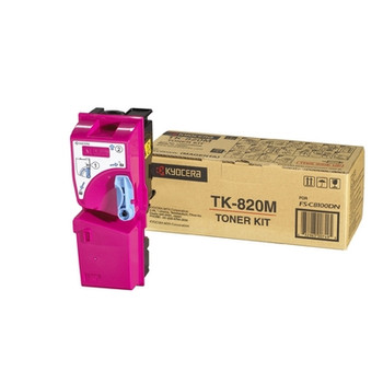 Kyocera TK-820M Magenta Toner (7k Yield)