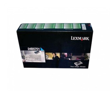 Lexmark 24B5701 Cyan High Yield Return Program Toner Cartridge 10K for XS748