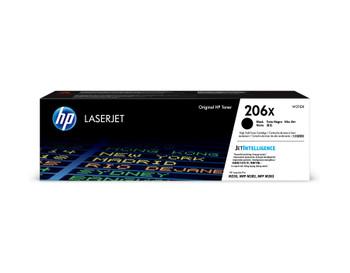 HP 206X (W2110X) LaserJet M282/M283/M255 High Yield Black Toner Cartridge