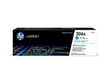 HP 206A (W2111A) LaserJet M282/M283/M255 Standard Yield Cyan Toner Cartridge