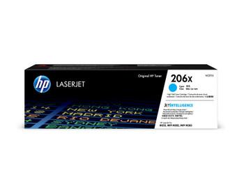 HP 206X (W2111X) LaserJet M282/M283/M255 High Yield Cyan Toner Cartridge