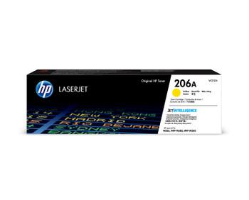HP 206A (W2112A) LaserJet M282/M283/M255 Standard Yield Yellow Toner Cartridge