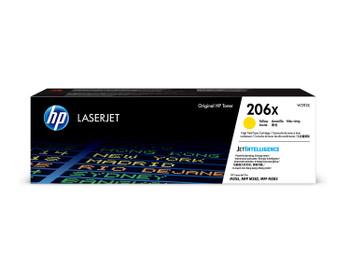 HP 206X (W2112X) LaserJet M282/M283/M255 High Yield Yellow Toner Cartridge