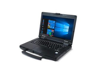 "Panasonic Toughbook FZ-55 (14.0"") Mk1 (HD, Standard Brightness) with 8GB Ram, 256GB SSD (User-Installable Modular Upgrade Options)"