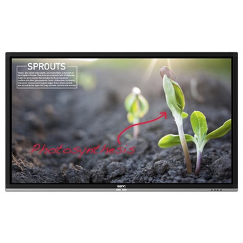 "75"" INTERACTIVE PANEL, ANDROID OS, UHD 3840X2160, 20x TOUCH ANTI-GLARE, 350CD/M² @ 1200:1"