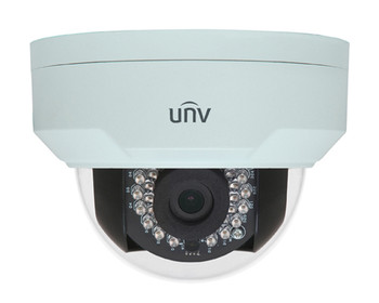 UNIVIEW IPC324ER3-DVPF36 4MP IR ULTRA 265 OUTDOOR DOME IP SECURITY CAMERA