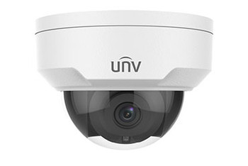 UNIVIEW IPC325ER3-DUVPF28 5MP IR ULTRA 265 OUTDOOR DOME IP SECURITY CAMERA STARLIGHT