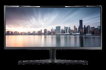 "Samsung 34"" (21:9) WQHD Curve LED Monitor 3440x1440, 4ms, Dp, Hdmi, Usb-c, Vesa, H/adj, 3yr"