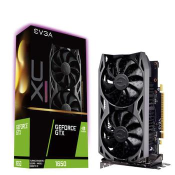 EVGA GeForce GTX 1650 XC ULTRA, OVERCLOCKED, 2.75 Slot Extreme Cool Dual, 60C Gaming, 04G-P4-1157-KR, 4GB GDDR5