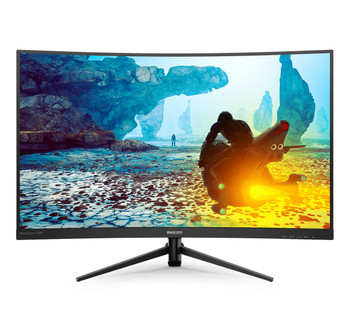 "Philips 31.5"" FHD Curved Gaming Monitor DP/HDMI/VGA"