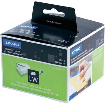 Dymo LW 36mm x 89mm Clear