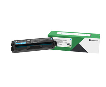 Lexmark C333 Cyan High Yield Return Program Toner Cartridge 2.5K for C3326/MC3326