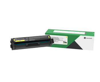 Lexmark C333 Yellow High Yield Return Program Toner Cartridge 2.5K for C3326/MC3326