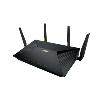 ASUS BRT-AC828 AC2600 Dual-WAN VPN Wireless Business Router - Up to 250 Simultaneous Client Connections