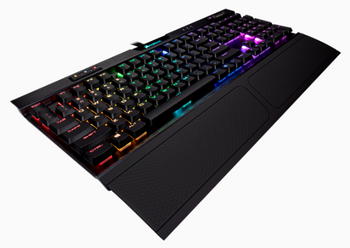 CORSAIR K70 RGB MK.2 LOW PROFILE Mechanical Gaming Keyboard Cherry MX Red