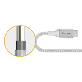 ALOGIC 1.5m USB-C to Lightning - Silver