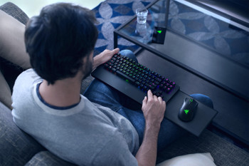 Razer Turret for Xbox One - Wireless Keyboard and Mouse for the Living Room - US Layout - FRML Packaging