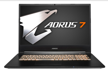 "AORUS 7,17.3"" LG FHD 144Hz IPS/ i7-9750H/ GTX 1650 4GB/ Samsung DDR4 2666 8GB/ Intel 760p 256GB PCIe M.2 SSD + 1TB HDD/ Win10/ 2yrs"