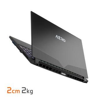 """AERO 15 OLED, 15.6"""" UHD OLED/ i7-9750H/ GTX 1660Ti 6GB/ DDR4 2666 8GBx2/ 512GB PCIe M.2 SSD/ Win10/ 2yrs"""