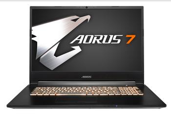 """AORUS 7,17.3"""" FHD 144Hz/ i7-9750H/ GTX 1660Ti 6GB/ DDR4 2666 16GB/ 512GB PCIe M.2 SSD+1TB HDD 7200rpm/ Win10/ 2yrs"""