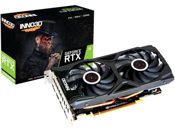 NVIDIA, RTX 2060 SUPER, TWIN X2 OC, 1665MHz, 8GB GDDR6, 3xDP, 1xHDMI, ATX, 2xFans, 550W, 3 Years Warranty