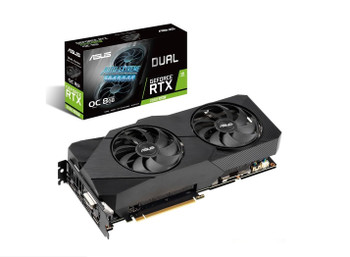 ASUS NVIDIA Dual GeForce RTX 2060 SUPER EVO OC edition 8GB GDDR6 with two powerful Axial-tech fans for AAA gaming performance and ray tracing