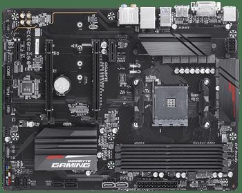 AMD, B450, GAMING X, AM4, 4xDDR4, 1xDVI, 1xHDMI, 1xRJ45, 4xPCI-E, ATX, 1xM.2, 6xSATA, 3 Years Warranty